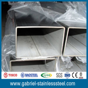 AISI 202 Welded Stainless Steel Square Tube pictures & photos