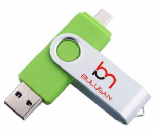 8GB OTG USB Flash Drive for Smart Phone/Tablet PC pictures & photos