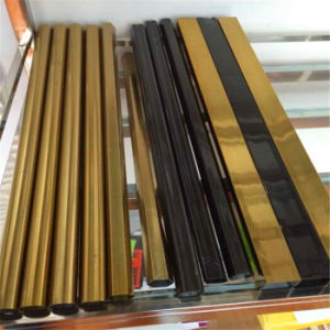 304 PVD Color Stainless Steel Pipe for Interior Decoration Railings pictures & photos