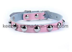 Elegant Real Leather Lovely Pet/Dog Cat Collars /Leash (KC0075) pictures & photos