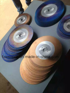 300X1.6X32mm HSS M2 Circular Saw Blade for Metal Cutting. pictures & photos