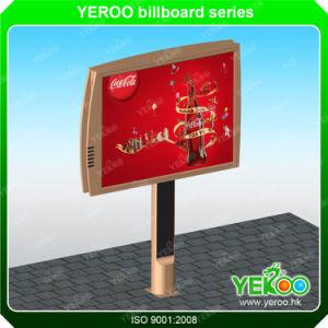 Highway Double Side Billboard-Steel Signboard Display Advertising-LED Backlit Billboard pictures & photos