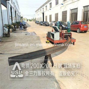 Jsl Section Steel Bending Equipment for Big Size H/I Beam pictures & photos
