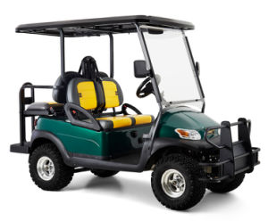 High Quality Battery Operated 4 Seater Electric Lifted Golf Buggy pictures & photos