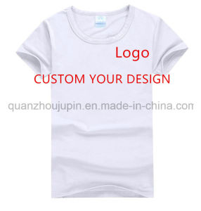 Custom Logo Print Men Women Round Neck Advertising T Shirt pictures & photos
