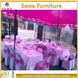 Modern Fancy Table Clothes &Chair Cover for Wedding pictures & photos