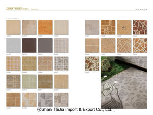 Building Material 300X300mm Rustic Porcelain Tile (TJ3270) pictures & photos