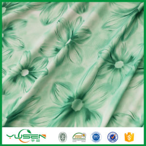 Knit Fabric Digital Print / Polyester Spandex Print Fabric pictures & photos