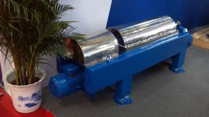 Decanter (Horizontal sedimentation centrifuge) Model LW250X860