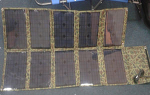 100W Foldable Water Proof Solar Cell Panels pictures & photos