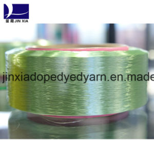 Polyester Filament Yarn FDY 30d/18f Dope-Dyed pictures & photos