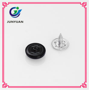 Black Fastener Rivet Buttons for Shoes and Jeans pictures & photos