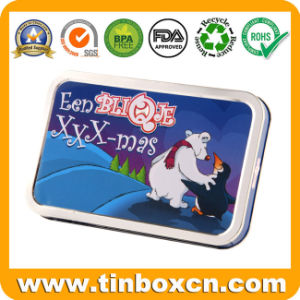 Rectangular Tin Box, Metal Tin Can Packaging, Gift Tin pictures & photos