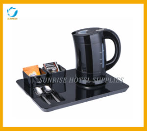 0.8L Capacity Plastic Water Kettle for Hotel pictures & photos