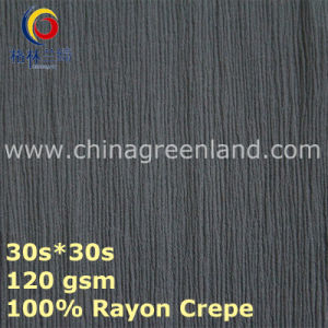 Rayon Crepe Cotton Fabric for Costume Textile (GLLML439) pictures & photos