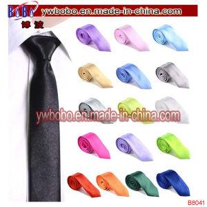 Christmas Gift Mens Slim Men Ties Neckwear Polyester Ties (B8044) pictures & photos