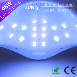 High Quality Sun5 UV LED Nail Lamp pictures & photos