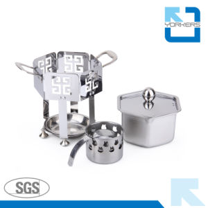 New Style Stainless Steel Alcohol Hot Pot and Stock/Soup Pots pictures & photos