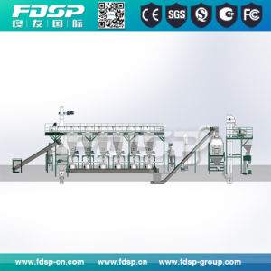 High Performance Complete Wood Ring Die Pelletizer Line pictures & photos