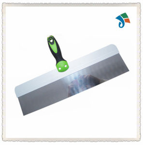 TPR Handle Stainless Steel Putty Knife Scaper pictures & photos