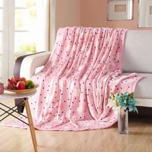Cute Micro Soft Plush Mink Blanket for Girl Room pictures & photos