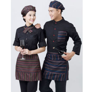 Bar Waitress and Waiter Uniform Design for Hotel pictures & photos