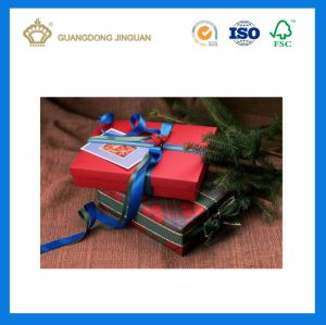 Four Colors Coated Paper Box for Christmas Day Festival Gift pictures & photos