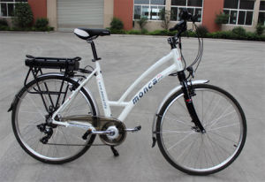 2017 Hot Sale MID-Driven Electric Bike City E Bicycle Beautiful Lady E-Bike Scooter Shimano Brand pictures & photos