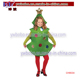 Christmas Items Santa Claus Costumes Child Star Carnival Costumes (CH8032) pictures & photos
