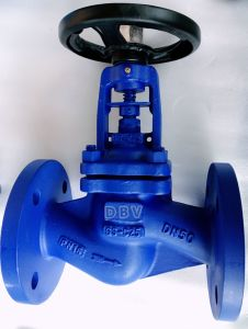 Ce Casting Wcb PTFE Rubber Seated Globe Valve pictures & photos