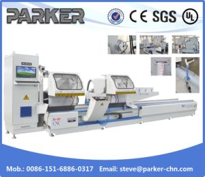UPVC CNC-Control Double Mitre Saw Cutting Machine/CNC Control Double Mitre Saw pictures & photos