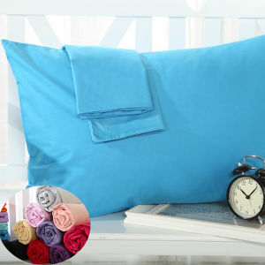 100%Cotton Easy Care Solid Pillowcase Set (DPH7708) pictures & photos