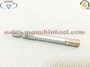 6mm Hex Shank Diamond Drill Bit for Ceramic pictures & photos