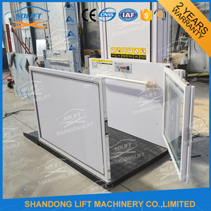 China Outdoor Vertical Electric Hydraulic Wheelchair Lift for Disabled Person pictures & photos