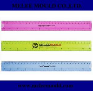 Plastic Injection Mould for Stationery Deli Ruler pictures & photos