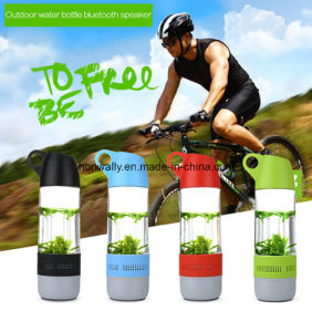 360 Degree Ground Sound Bluetooth Water Bottle Speaker