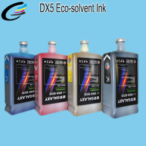 Outdoor Galaxy Eco Solvent Ink for Galaxy Eco Solvent Printer, with Dx5 Print Head pictures & photos