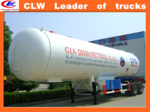 Clw LPG Propane Tanker Trailers for Isobutane pictures & photos