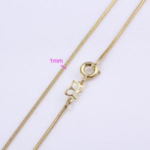 Fashion 14k Gold Color Women Necklace (41674) pictures & photos