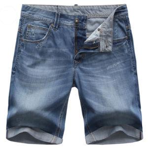 2017 Summer Men Cotton Denim Shorts Basic Jean Shorts