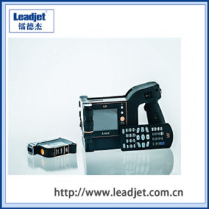 Handheld Continuous Cij Inkjet Automatic Date Stamp Printer pictures & photos