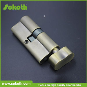 Door Lock Solid All Brass Single Open Cylinder Lock pictures & photos