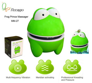 Promotional Gifts Frog Prince Plastic Handheld Massager pictures & photos