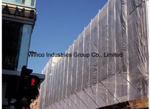 Scaffold Sheeting, Leno Tarps, Waterproof and Fire Resistant Building Cover Sheet pictures & photos