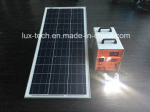 100W off-Grid Solar Power Portable Home System