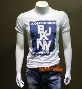 100%Combed Cotton Men T Shirts with Printing Logo pictures & photos