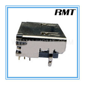 HDMI 19p Female Connector Connector (RMT-160325-011) pictures & photos