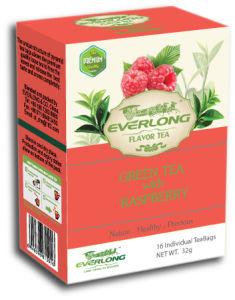 Raspberry Flavored Green Tea Pyramid Tea Bag Premium Blends Organic & EU Compliant (FTB1505) pictures & photos