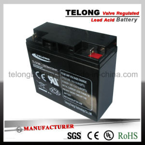 12V18ah Rechargeable AGM / Gel UPS Solar Power Battery pictures & photos