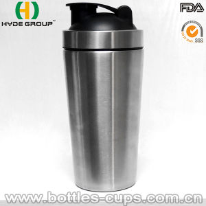 700ml Single Wall Stainless Steel Shaker Water Bottle (HDP-0599) pictures & photos